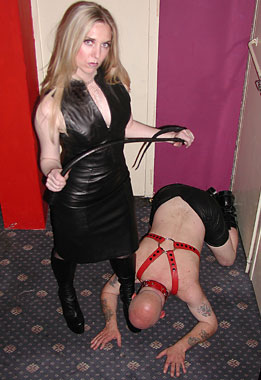 Captured cock and bdsm
