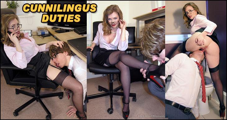 office cunnilingus