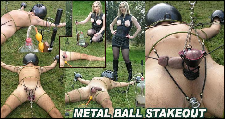 Stake out bondage photo 836