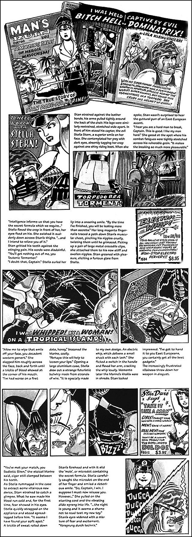Mans-Ruin-Sub-Marine-Femdom-Uniform-Comic