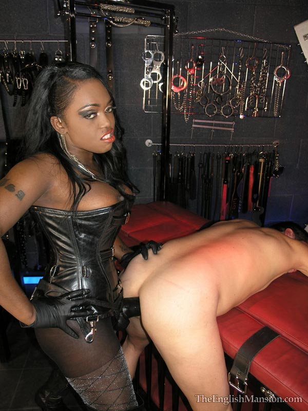 Mistress Big Strapon Pegging