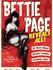 Bettie Page Immortal Fetish Icon