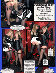 Lady Nina's Chastised & Caged Maid