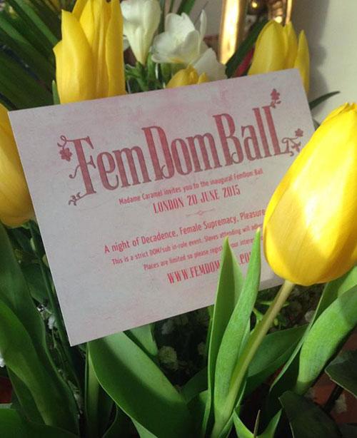 Femdom-ball-invite