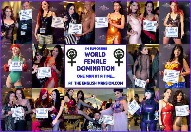 English mansion female domination