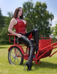 Ridden Hard: Slave Drawn Carriages