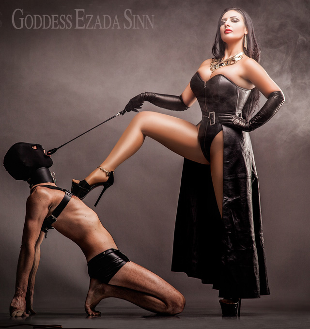 Mistress has her feet smelled and licked by her slave 3