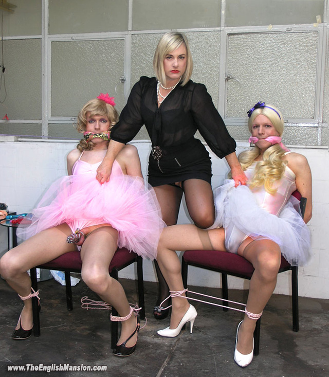 English mansion sissy