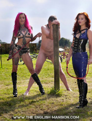 Femdom Summer Garden Party Pt2 - Sunshine, Service & Suffering