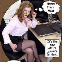 Confessions of a Lady Boss – Femdom Comic Strip