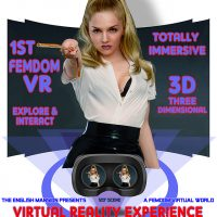 It's here! Femdom VR – Virtual Reality