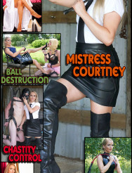 Domme Blonde: Mistress Courtney
