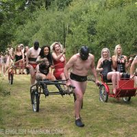 Femdom High Protocol Gala – Early Afternoon & The Races