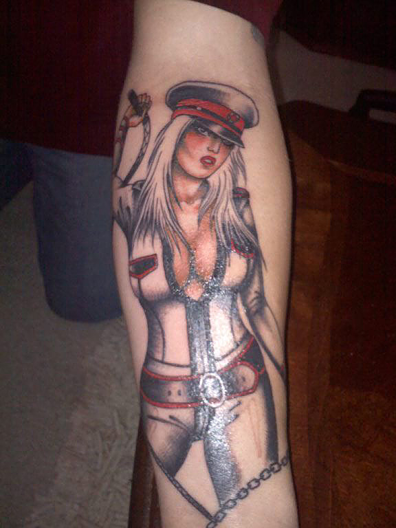 Tattoo of Goddess Lexi Sindel
