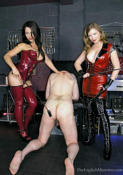 Now you WILL suck cock for Mistress T & Moi