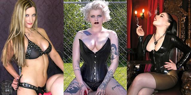 Mistress Nikki Whiplash ~ Miss Marilyn ~ Lady Sophia