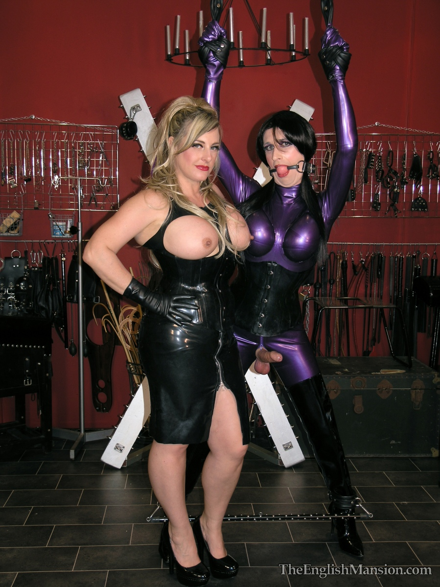 Are not transvestite rubber mistress can