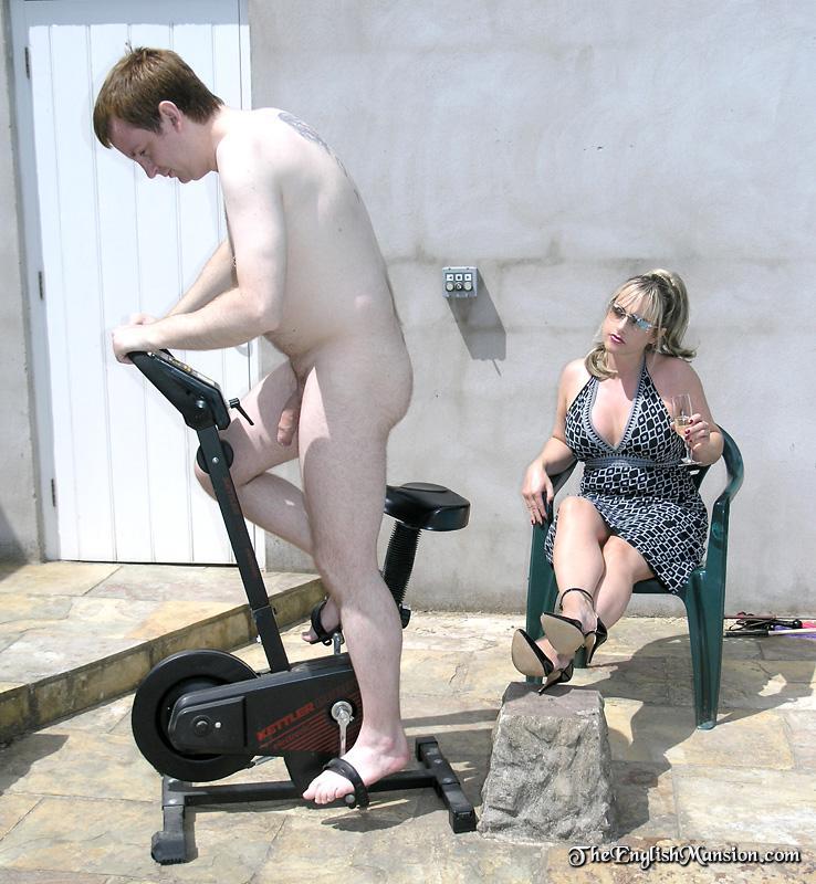 peeking at naked son
