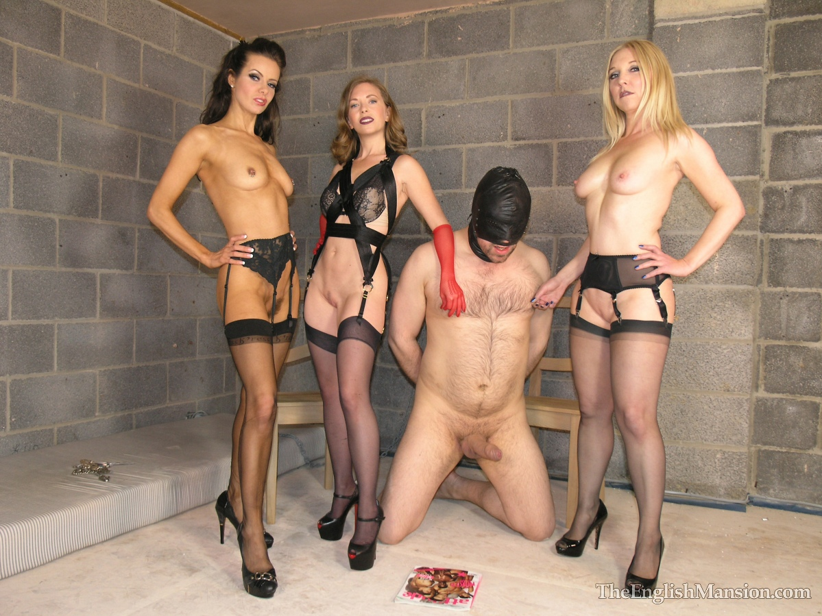 Watch british femdom pegging submissive outdoors