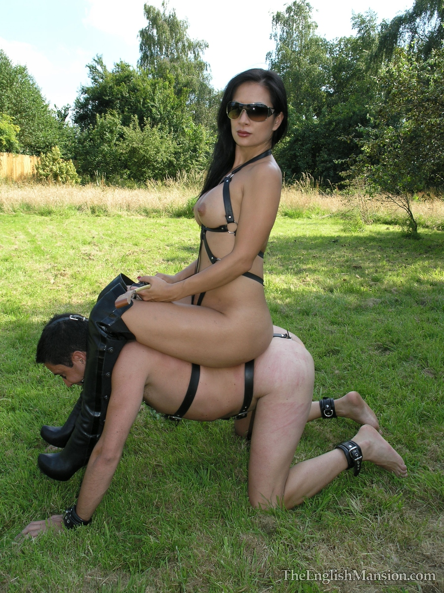 Slave dominatrix pony