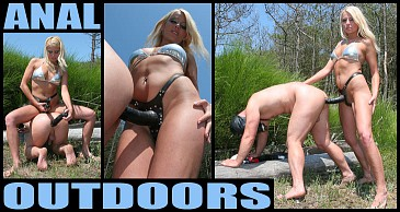 Anal Outdoors:Featuring Lady Natalie Black