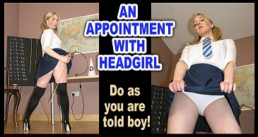 Appointment With Headgirl:Featuring Miss Eve Harper