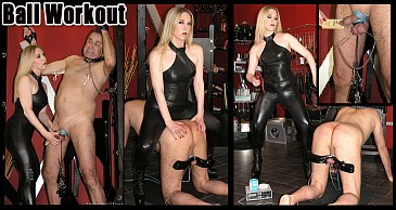 Ball Workout:Featuring Mistress Sidonia