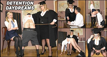 Detention Daydreams:Featuring Lady Nina Birch & Miss Eve Harper