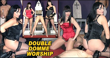 Double Dom Worship:Featuring Miss Jessica & Mistress Xena