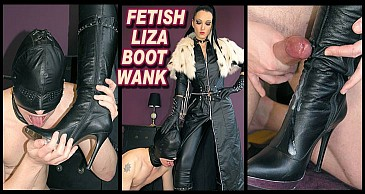 Fetish Liza Boot Wank:Featuring Fetish Liza