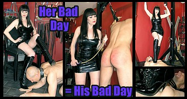 Her Bad Day = His Bad Day:Featuring Miss Jessica