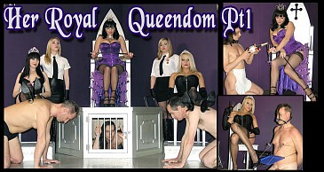 Her Royal Queendom Pt 1:Featuring Lady Natalie Black & Lady Nina Birch & Miss Jessica & Mistress Sidonia & Mistress Xena