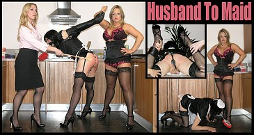 Husband to Maid:Featuring Lady Nina Birch & Miss Eve Harper