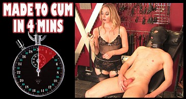 Made To Cum in 4 Minutes:Featuring Mistress Sidonia