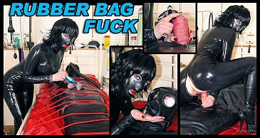 Rubber Bag Fuck:Featuring Masked Mistress