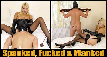 Spanked, Fucked and Wanked:Featuring Lady Natalie Black