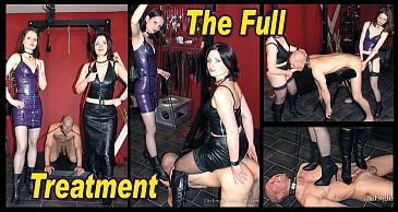 The Full Treatment:Featuring Domina Heelena & Mistress Arella