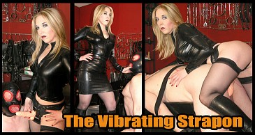 The Vibrating Strapon:Featuring Mistress Sidonia