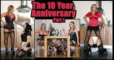 The Ten Year Anniversary Pt 1:Featuring Lady Nina Birch & Miss Eve Harper
